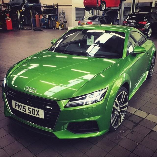 Audi TT Javagrün