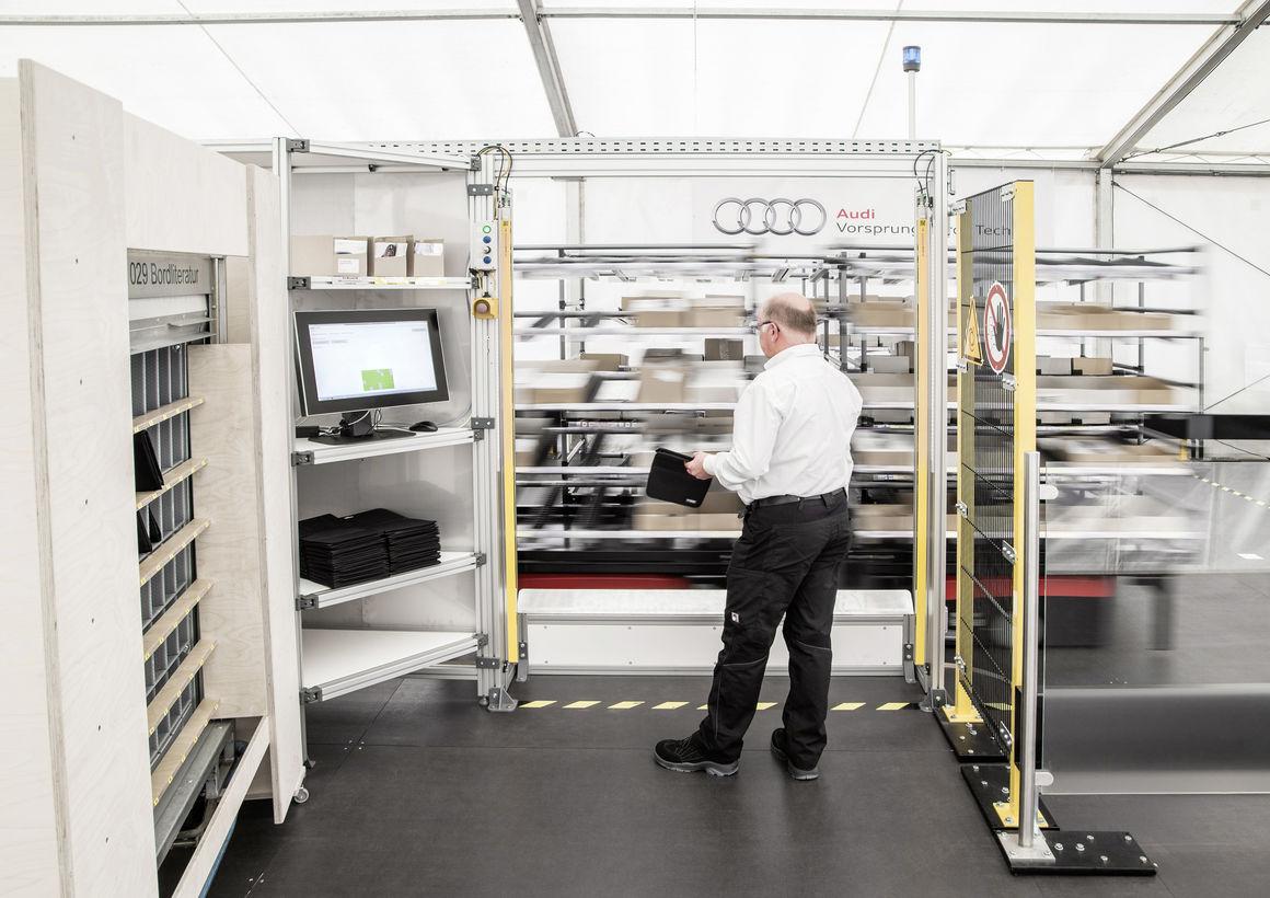 Audi Logistik