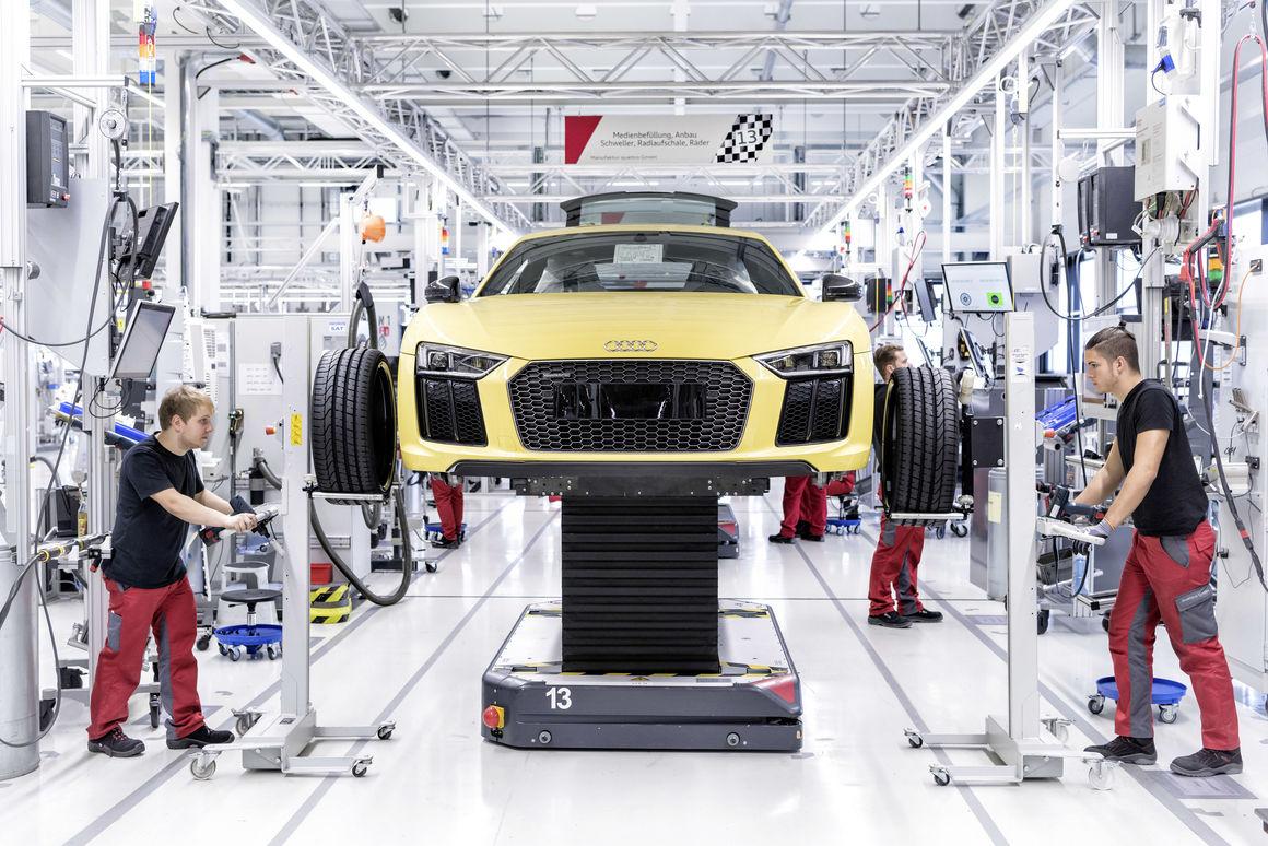 Audi R8-Manufaktur 1