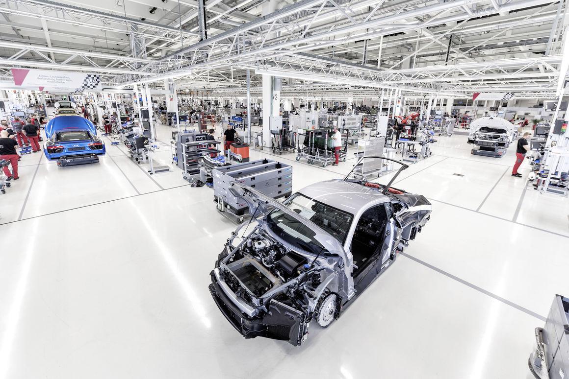 Audi R8-Manufaktur 3
