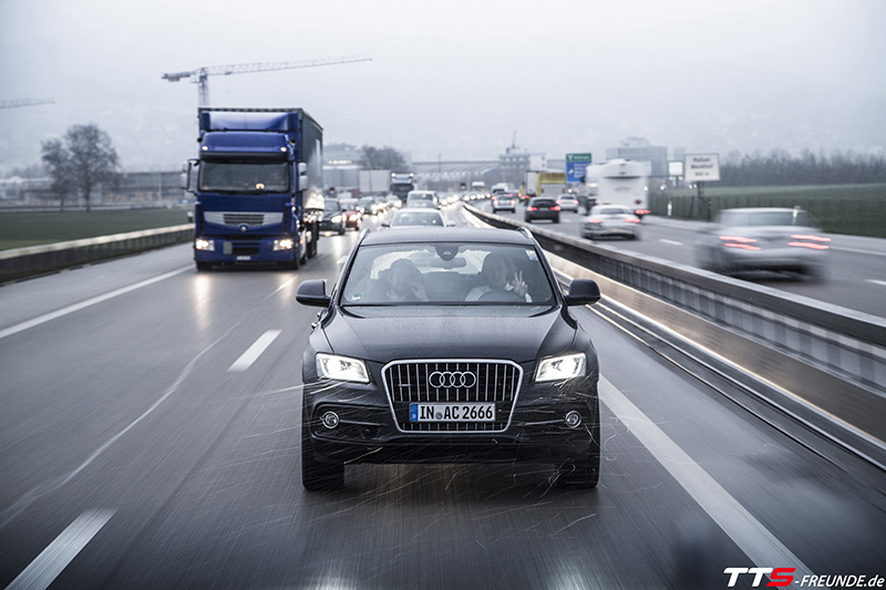 TTS-Freunde Roadtrip nach Genf zur Audi Q2 Weltpremiere