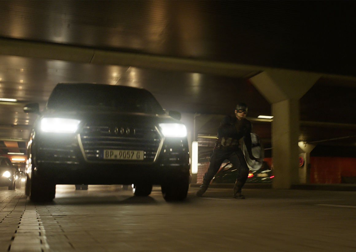 Audi SQ7 The First Avenger Civil War
