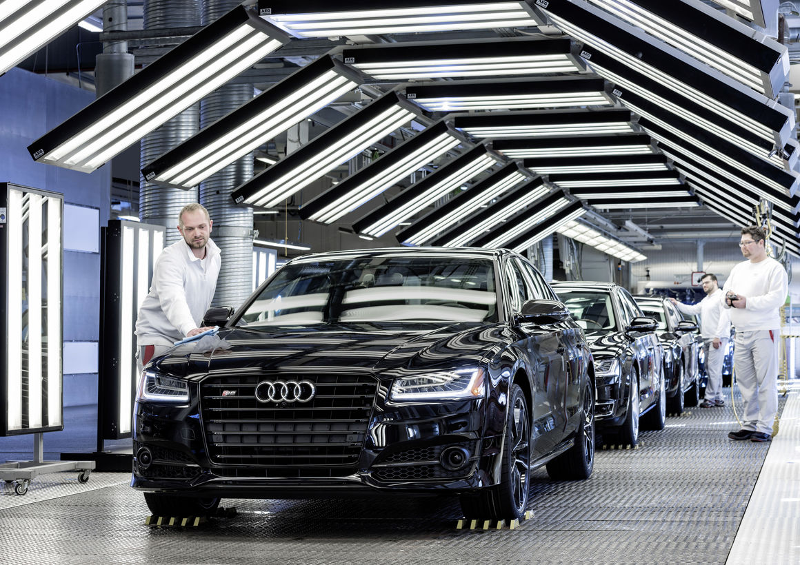 Neue Audi A8-Produktion am Standort Neckarsulm eingeweiht