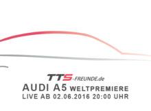 Audi A5 Weltpremiere