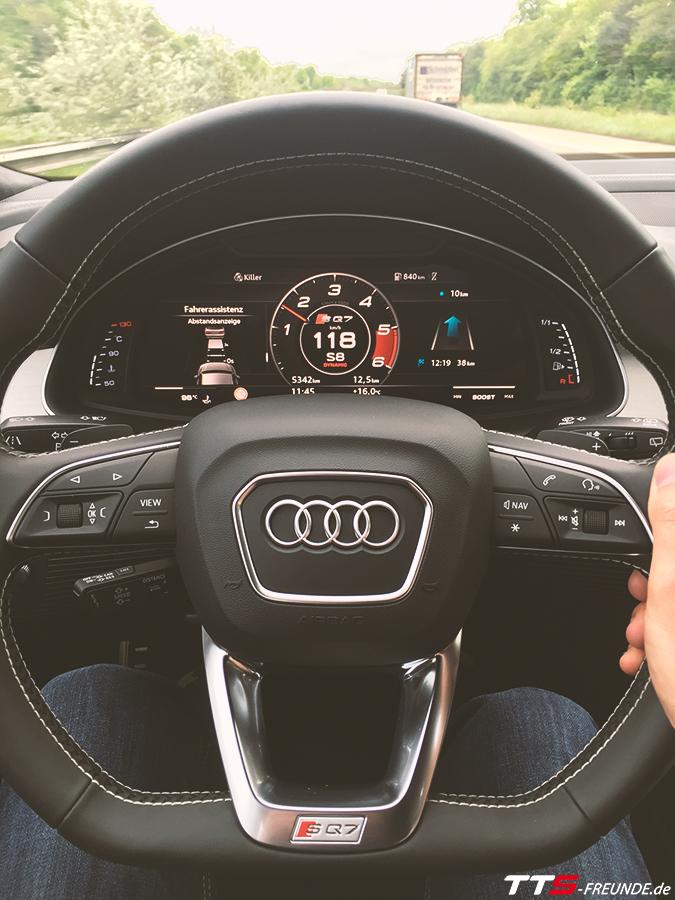 Audi SQ7 TDI Interior