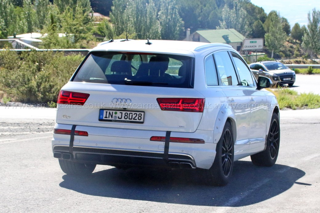 Audi Q8 oder Audi RSQ7 Spy Pictures