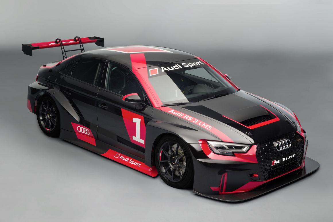 Audi RS 3 LMS - Der Audi RS 3 für die Rennstrecke