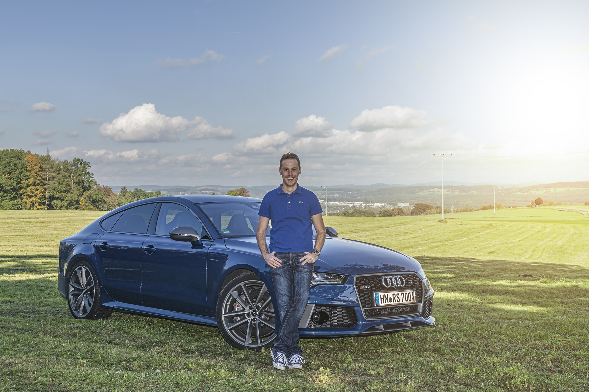 Audi RS7 Sportback performance - Ascariblue