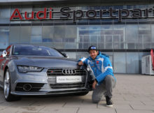 Felix Neureuther Audi S7