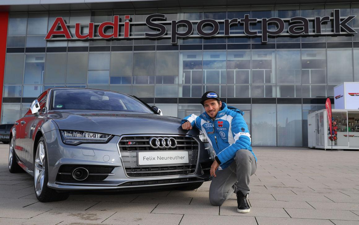Felix Neureuther Audi S7