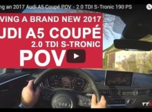 Audi A5 POV